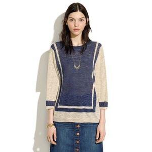 MADEWELL Sandbar Lightweight Linen Blend Sweater